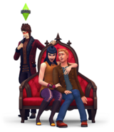 The Sims 4 Vampires Render 06