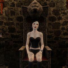 Una vampira malvada.