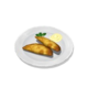 Пирожки с креветками