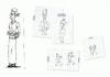 Croquis de Mlle Ladentelle (Les Sims)