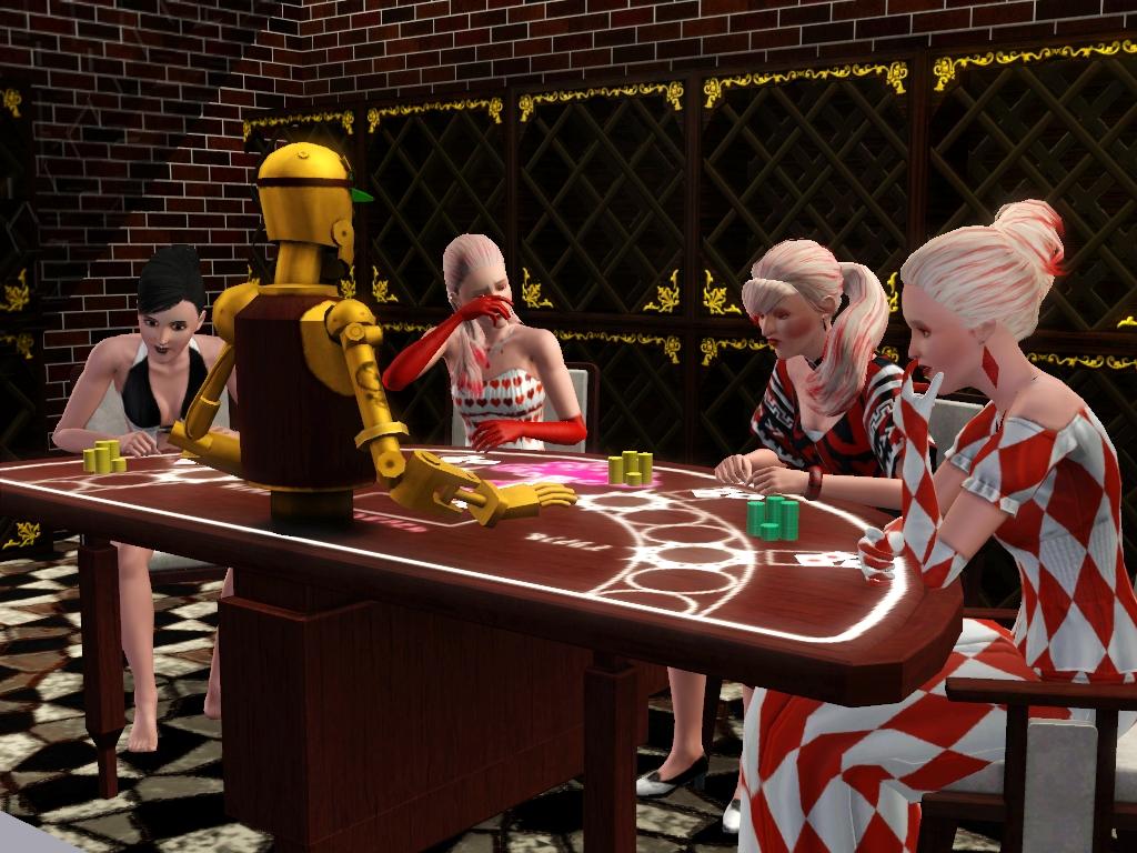 electronic gambling games