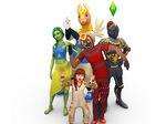 Les Sims 4 Vivre Ensemble Render 9