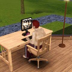 Изображение снежного человека в «<i>The Sims 3: Все возрасты</i>».