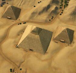 Simhara pyramids