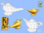 Les Sims 2 Bon Voyage Concept art 3