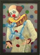 Schilderij Tragische Clown Sims 4