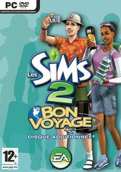 Jaquette Les Sims 2 Bon Voyage
