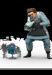 Les Sims 4 Au Travail Render 13