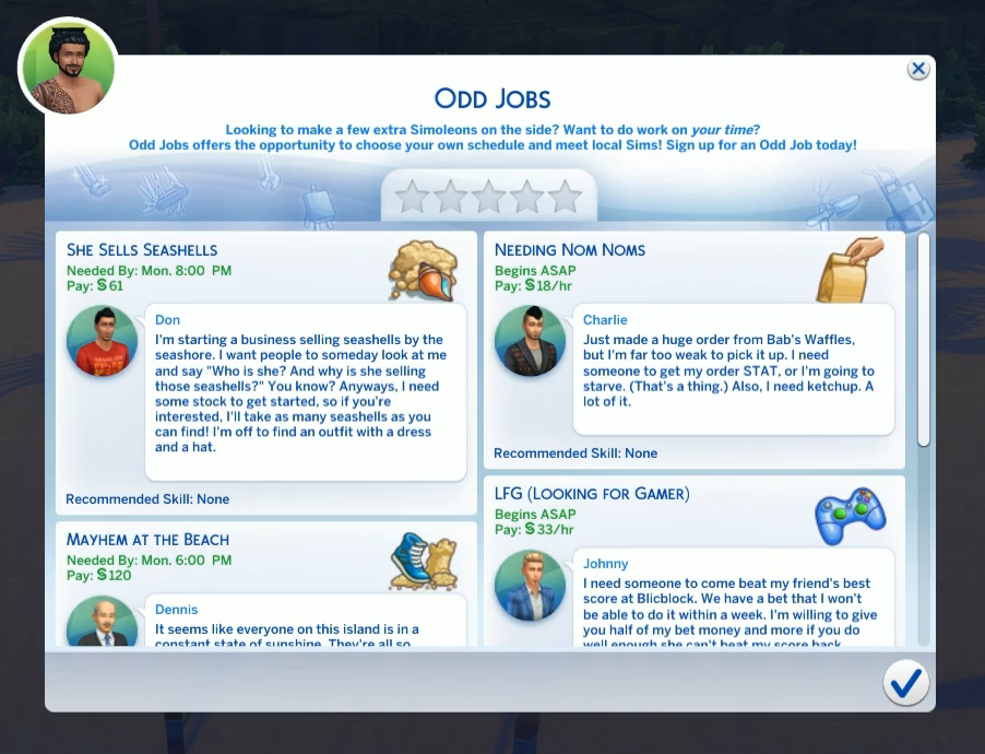 Odd Jobs The Sims Wiki Fandom