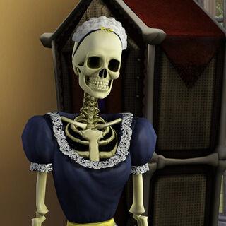 Скельхильда в <i>The Sims 3</i>.