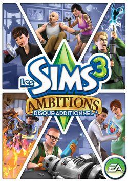 Jaquette FR Les Sims 3 Ambitions