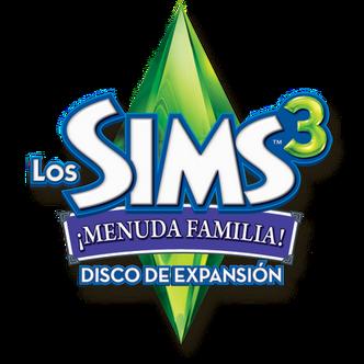 Logo sims 3 menuda familia