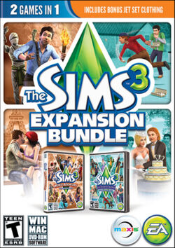 The Sims 3 Expansion Bundle Cover