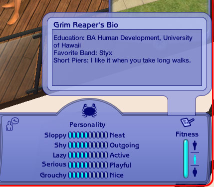 Sims 3 dating profil