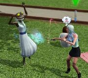 TS3 Witch turning Sim into toad