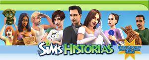 Banner Los Sims Historias