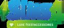 De Sims 4 Luxe Feestaccessoires Logo