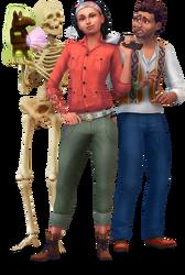 Les Sims 4 Dans la jungle Render 02