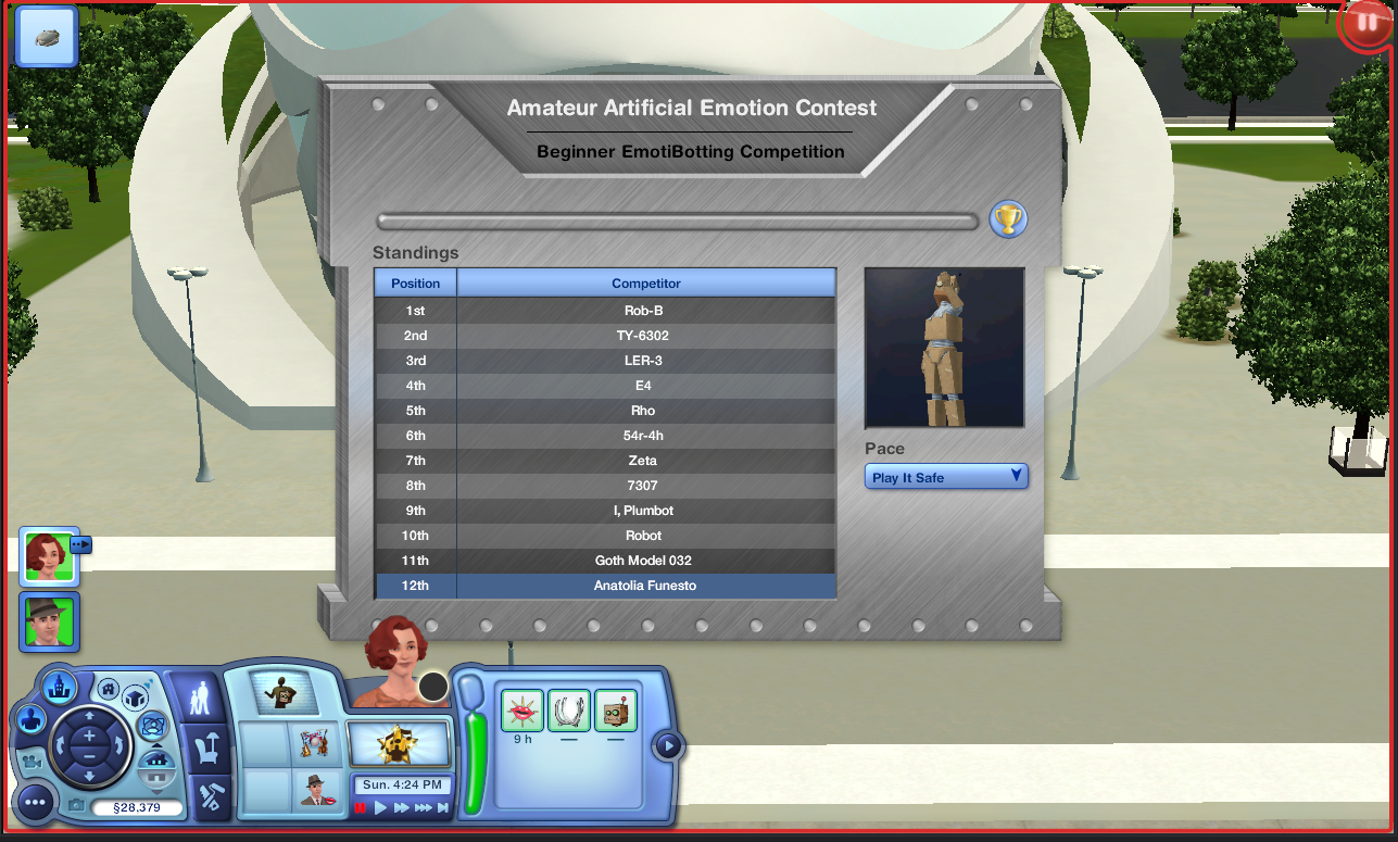 Plumbot competition arena   The Sims Wiki   FANDOM powered