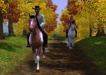 TS3 PETS PC 1ST LOOK HORSE RIDING 01