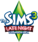 The sims 3 late night logo transparent 538x600