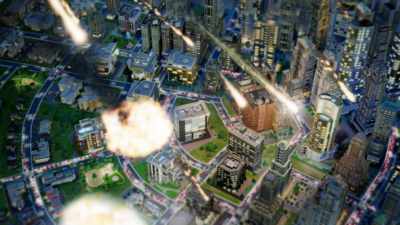 SimCity - Meteoros