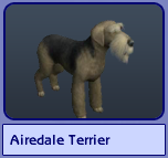 Airedale Terrier (Sims 2)