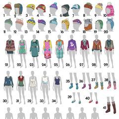 Opciones de sombreros para votar
