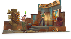 Les Sims 4 Dans la jungle Render 01