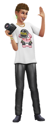 Les Sims 4 Moschino Render 04