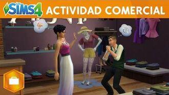 Los Sims 4 ¡A Trabajar! Actividad Comercial – Trailer Oficial