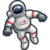 Astronauta Carrera Icono