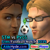 174 Sims Football Match 2035 Promo