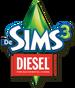 De Sims 3 Diesel Accessoires Logo