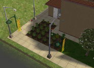 Fresh Rush Grocery produce garden isometric view