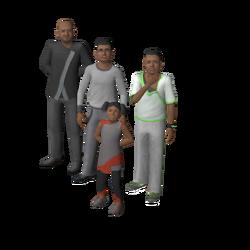 Jones familie (Oasis Landing)