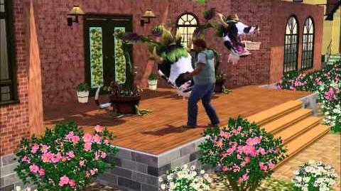 Planta-Vaca en Los Sims 3!