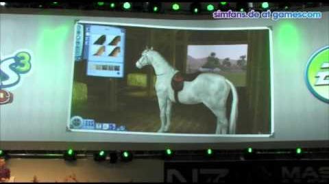 Producer Präsentation Die Sims 3 Einfach tierisch - gamescom 2011