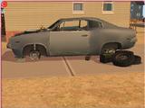 Restorable junk car