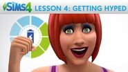 The Sims 4 Academy Getting Hyped - Lesson 4 Emotions