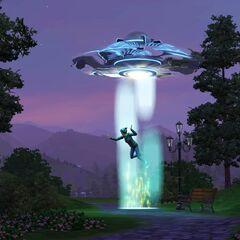 Abducción alienígena.