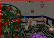 Indoor plants and decorations in TS2