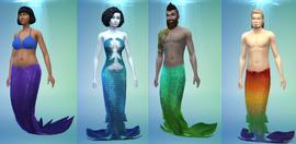 TS4 Mermaids CAS