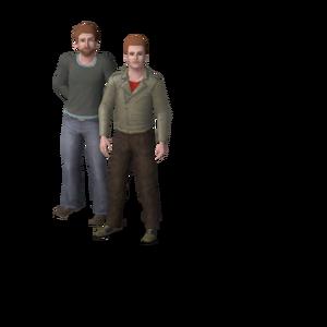 Frio Family (The Sims 3)