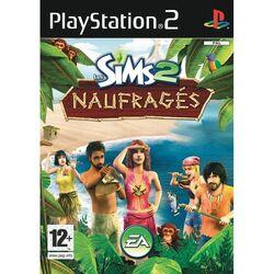 Packshot Les Sims 2 Naufragés PS2