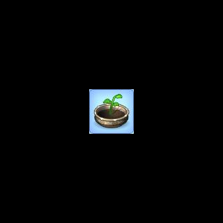 El icono de un deseo de un Sim para comprar una maceta.