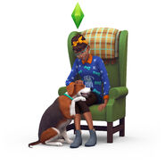 The Sims 4 Cats & Dogs Render 06