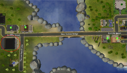 Rapid Racers Roller Rink - road map
