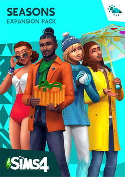 TS4 Seasons Cover Art