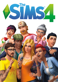 TS4 official boxart
